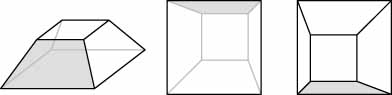 Although the truncated pyramid cannot be rotated in Eminence Designer, there is nothing to stop you from picking a different side for the front of your box.
